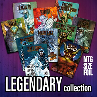 Legendary collection MTG token set