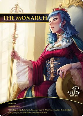 The Monarch MTG token