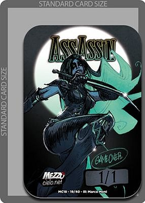 Assassin MTG token 1/1