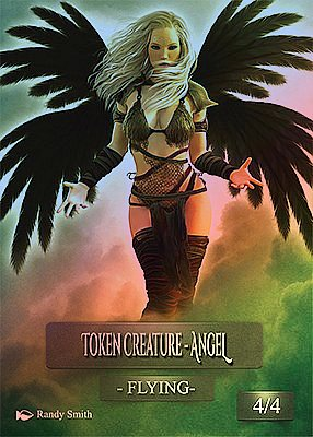 Angel MTG token 4/4