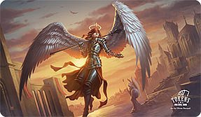MTG playmat Angelic Guardian